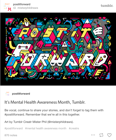 Video For Tumblrs Post It Forward Campaign