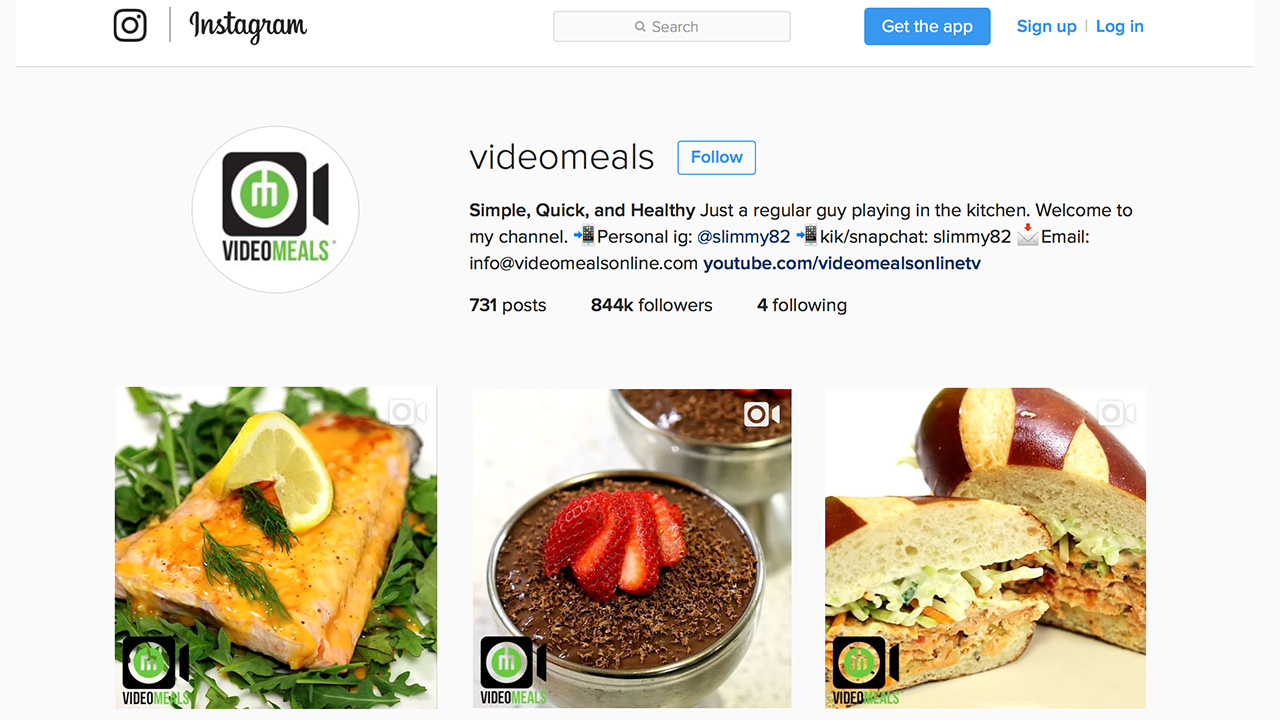 Videomeals quick simple and healthy meals presented in short 15 video for videomeals quick simple and healthy meals presented in short 15 second videos forumfinder