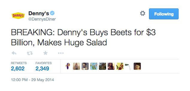 denny s twitter the shorty awards