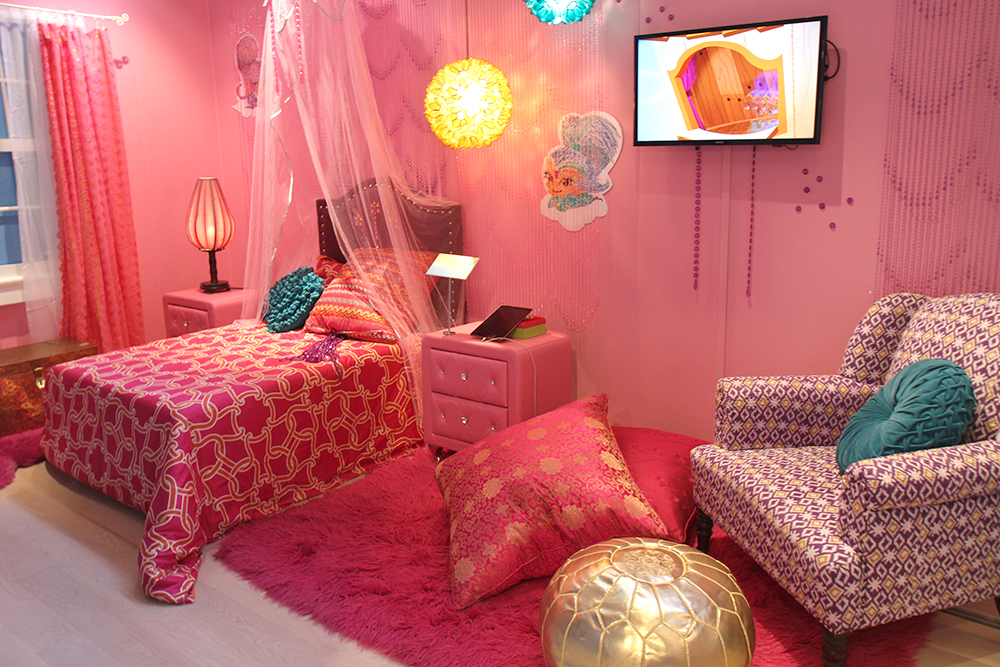 Shimmer and Shine Dreamy Genie Bedroom - The Shorty Awards