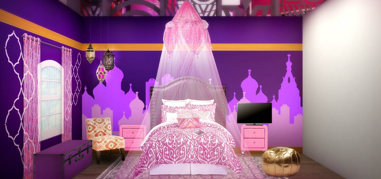Shimmer And Shine Dreamy Genie Bedroom The Shorty Awards