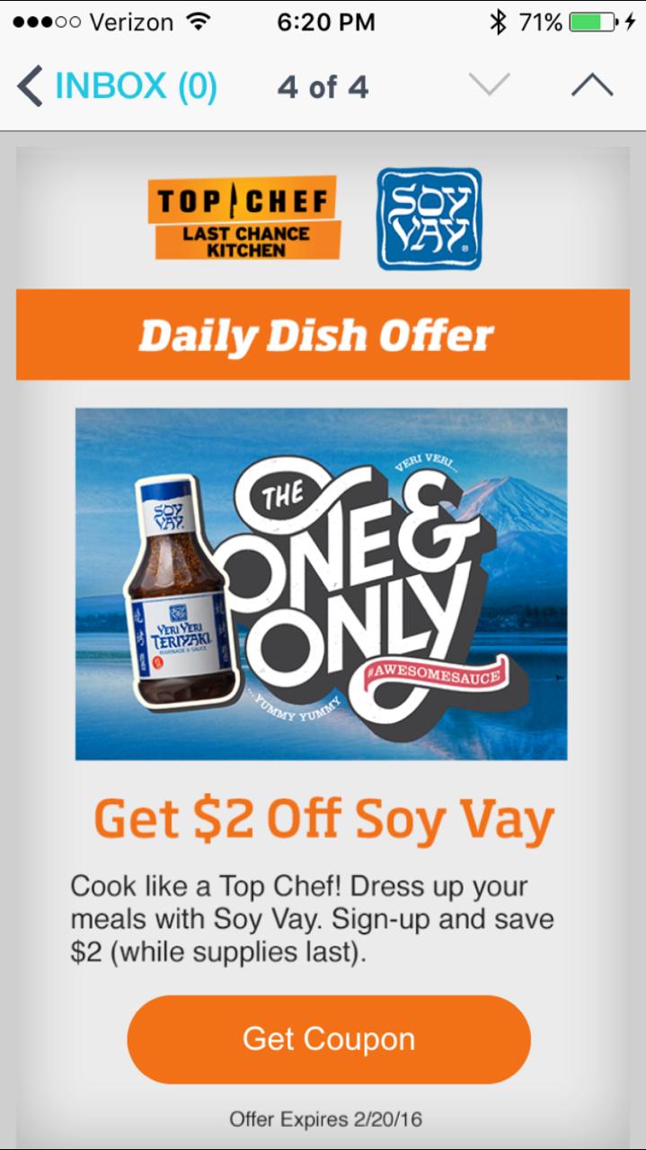 Daily Dish App - The Shorty Awards