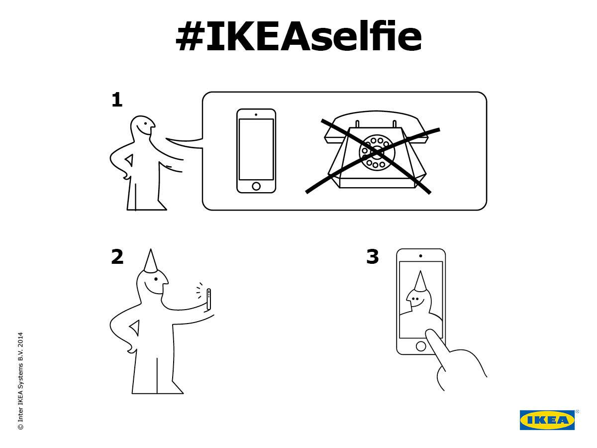 #IKEAselfie  The Shorty Awards